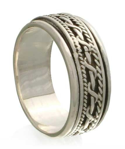Men's Silver Ring - Knots